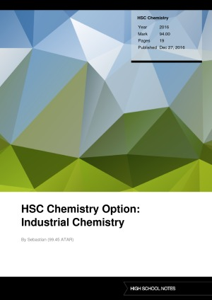 hsc chemisrty syllabus notes International baccalaureate chemistry web, an interactive ib syllabus with revision notes and worked past paper questions.