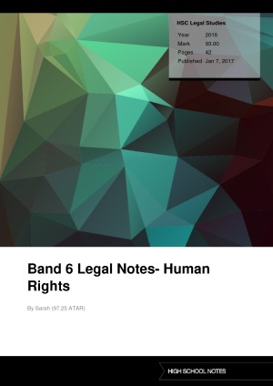 human rights case study australia