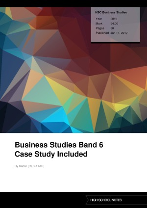 business studies notes full syllabus Learners consider a range of stakeholder perspectives, from the individual to national government, when studying the cambridge o level business studies syllabus.