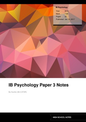 ib psychology paper 2 rubric Essays - largest database of quality sample essays and research papers on ib paper 2 essay english.