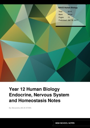 human biology study notes