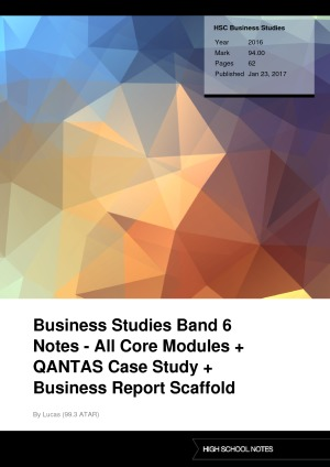 business report for qantas essay Qantas annual report 2015 a strong, sustainable  annual  report 2015 group underlying income statement summary.